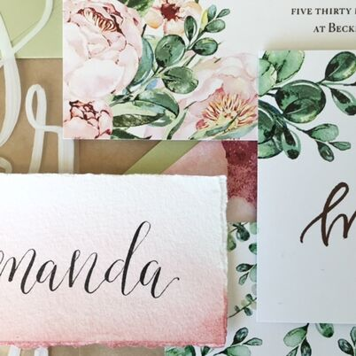 Calligraphers In Houston Tx The Knot