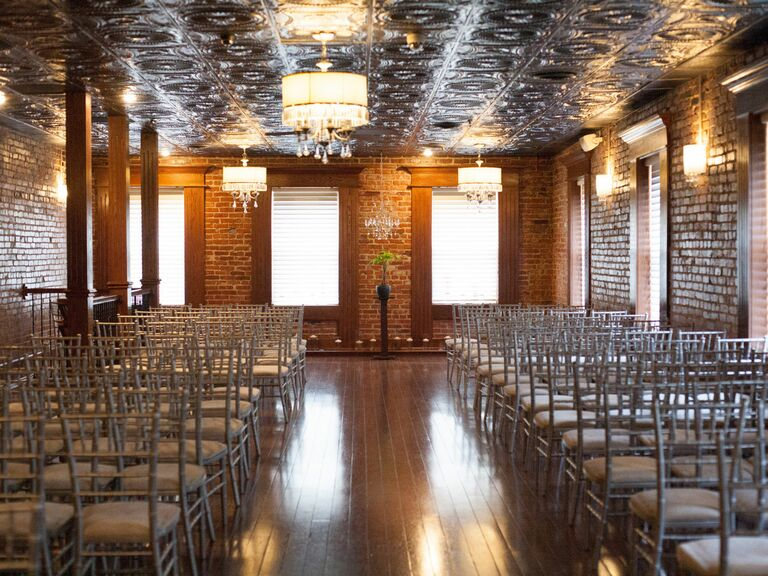 5 totally industrial missouri wedding venues stanley historic wedding reception junglespirit Choice Image