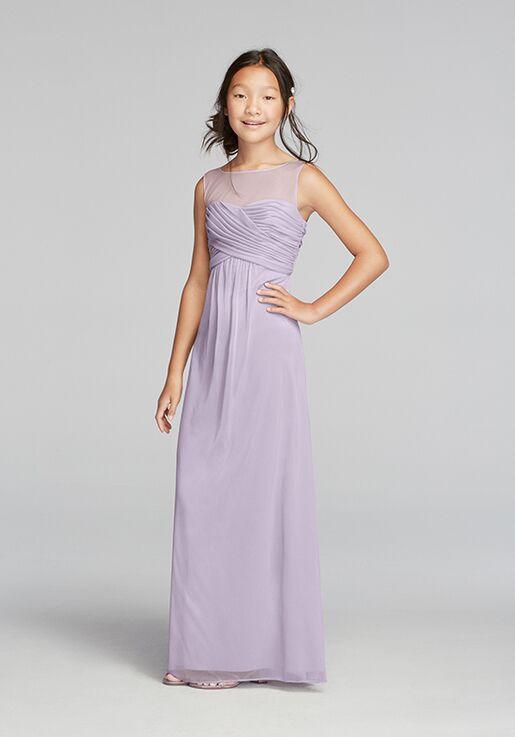 d0e5a542b1c David s Bridal Junior Bridesmaids David s Bridal Style JB9010 Illusion Bridesmaid  Dress