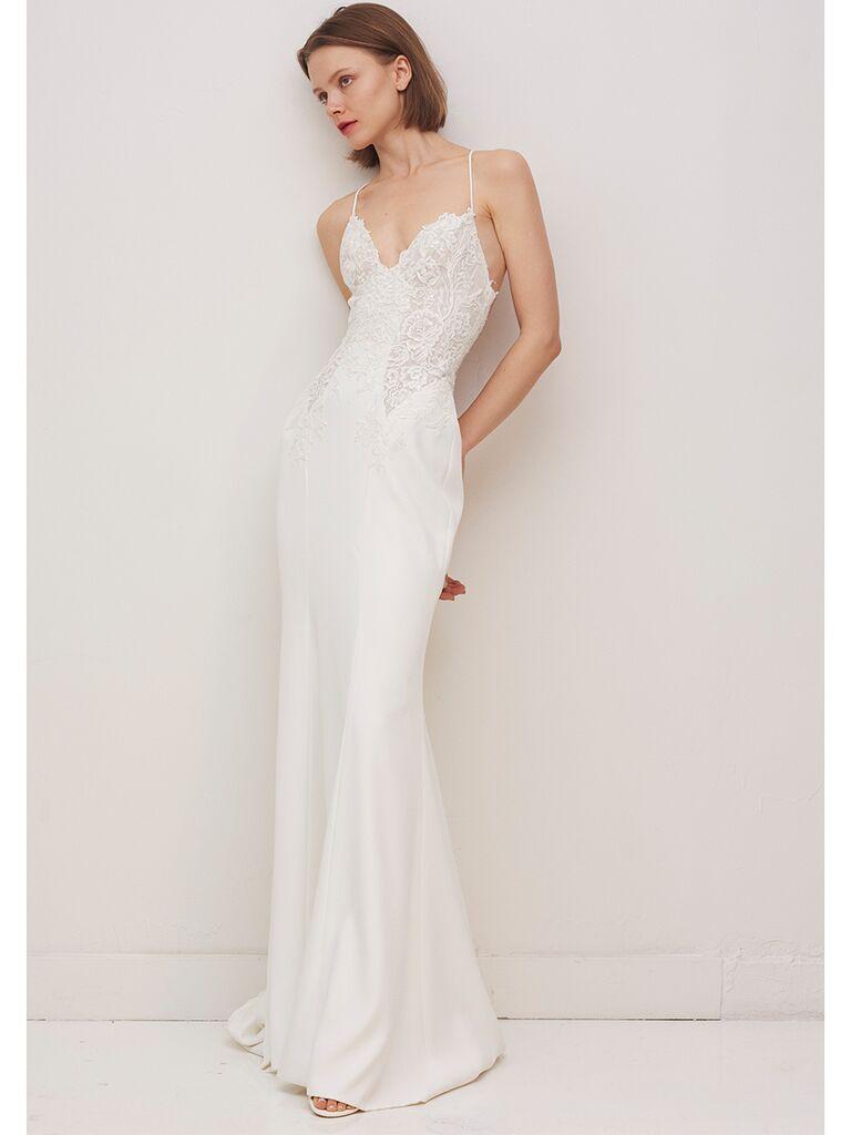 Rivini by Rita Vinieris sheath wedding dress