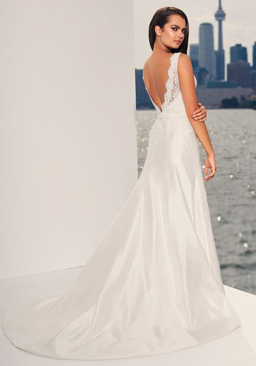 Paloma Blanca 4826 A-Line Wedding Dress