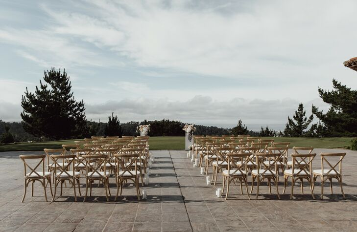 Outdoor Ceremony Space at Tehama Golf Club in Carmel-By-The-Sea, California