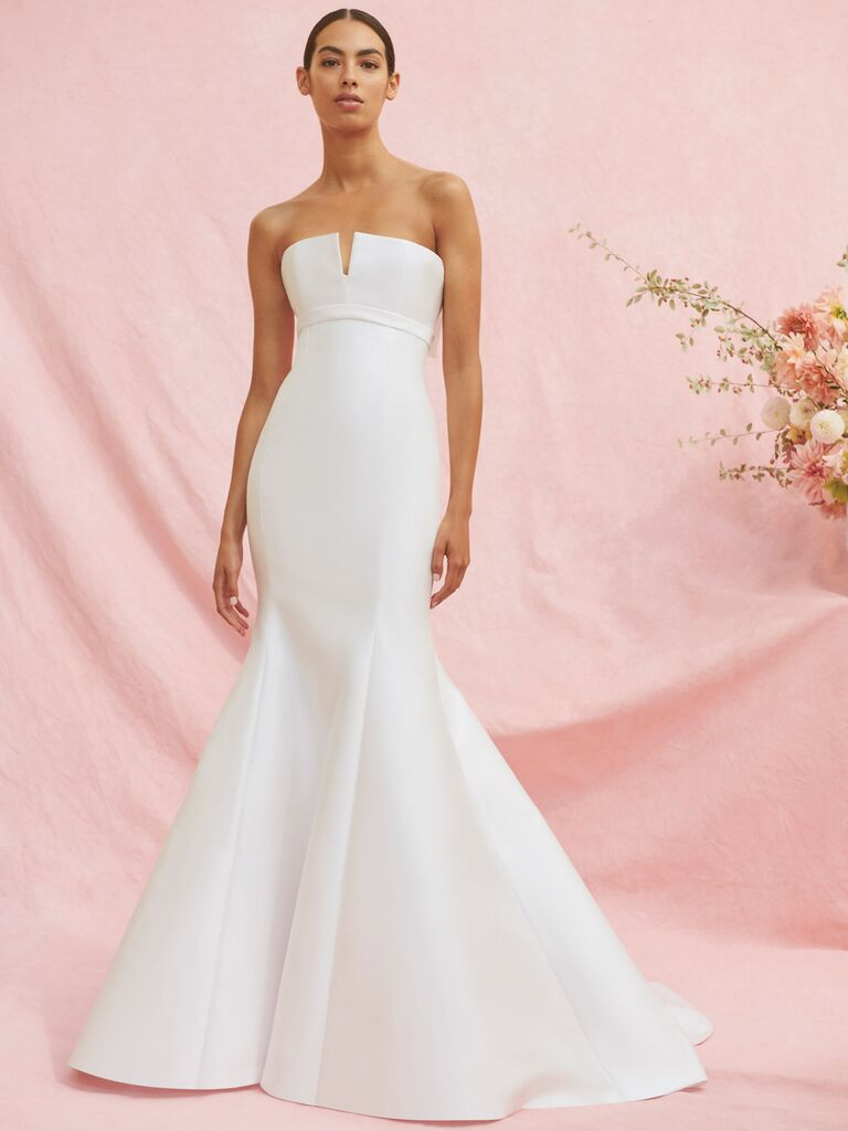 Carolina Herrera Maxine strapless mermaid wedding dress