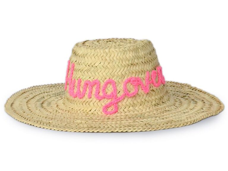 ​White Elephant Designs Hungover straw hat
