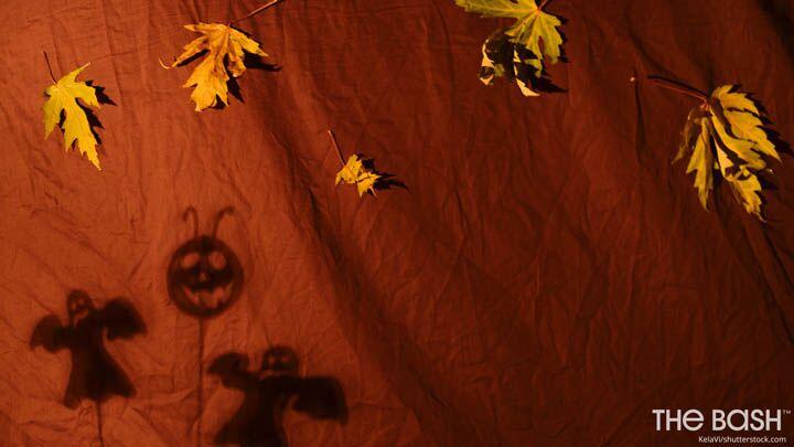 Halloween Zoom Background - Shadows