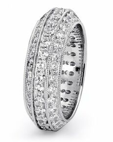 TRUE KNOTS Love is Light Collection - DW256 Palladium, Platinum, White Gold Wedding Ring