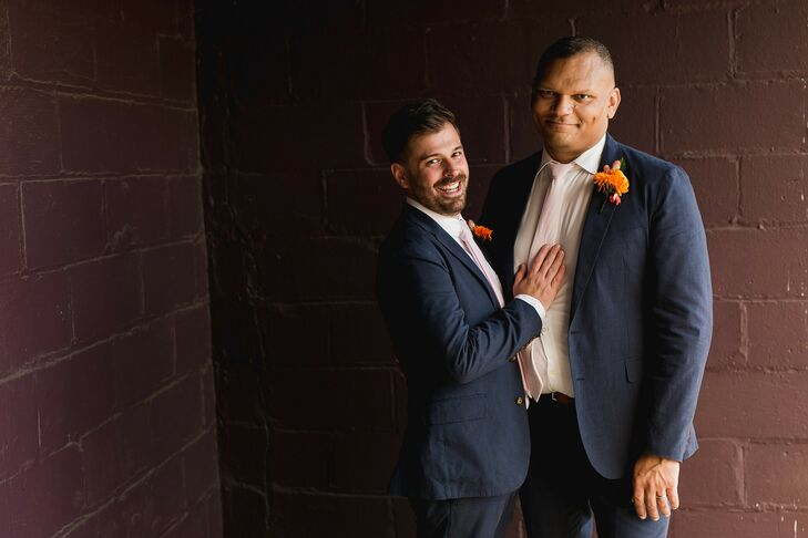 Although the ongoing COVID-19 pandemic meant Jason and Kevin couldn't have a large, over-the-top wedding, the couple was still able to celebrate their