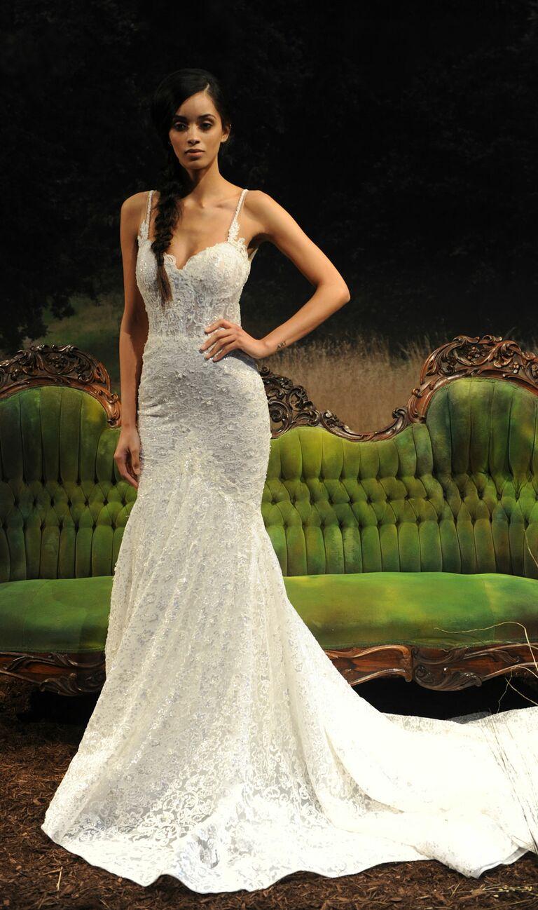 Crochet Mermaid Wedding Dresses