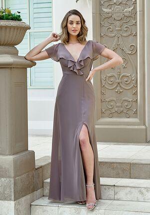 B2 Bridesmaids by Jasmine B233051 V-Neck Bridesmaid Dress