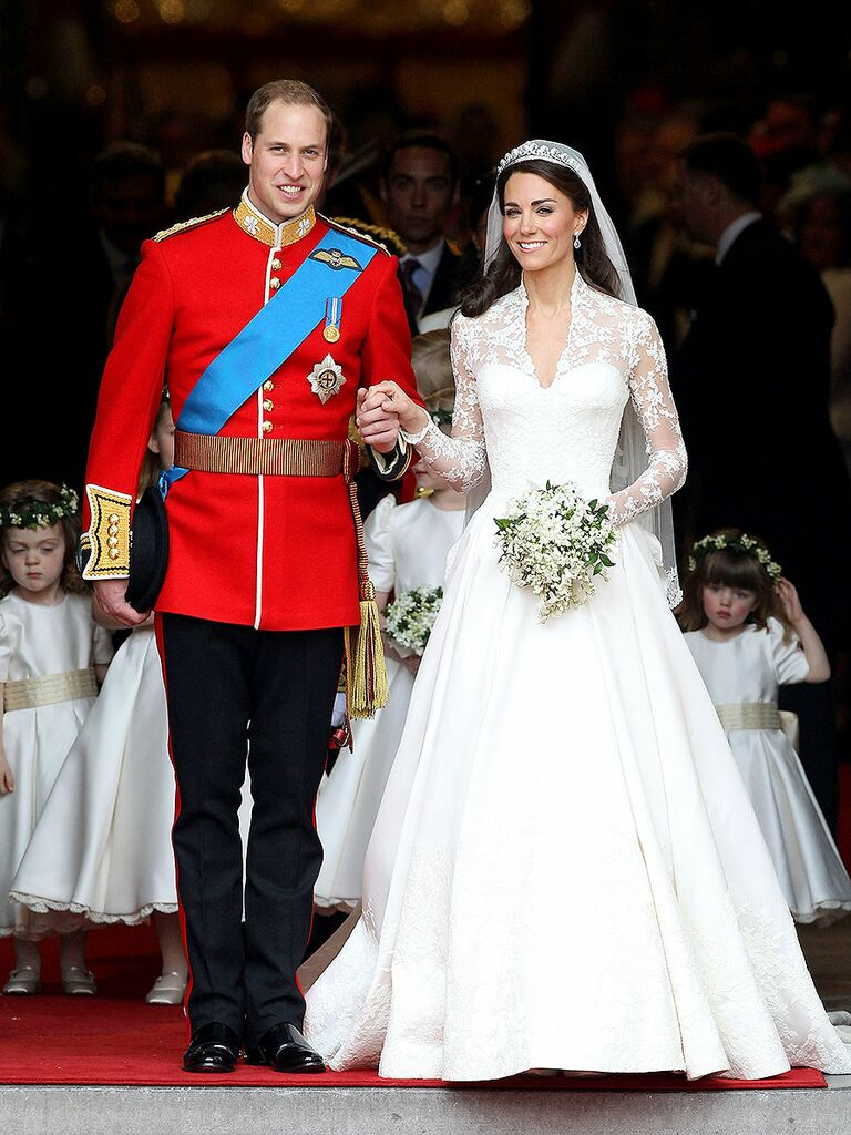 c87fcd2a195fe The 54 Best Celebrity Wedding Dresses of All Time