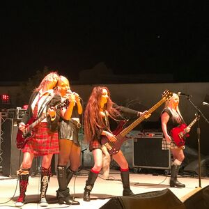 Whole Lotta Rosies - All Girl AC/DC Tribute Band
