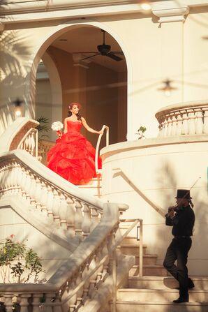 Amina's Ritz-Carlton, Sarasota Staircase Processional