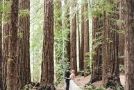 In search of an intimate, rustic wedding, Larissa Cleveland (31 and a photographer) and Timothy Koenig (31 and a technical product manager) exchanged
