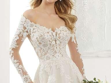 Morilee by Madeline Gardner strapless wedding dress
