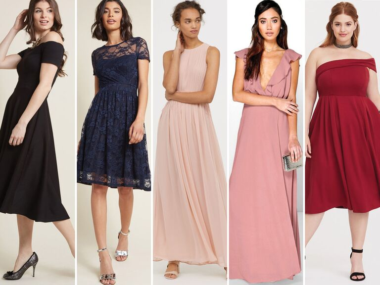 55 Bridesmaid Dresses Under 100