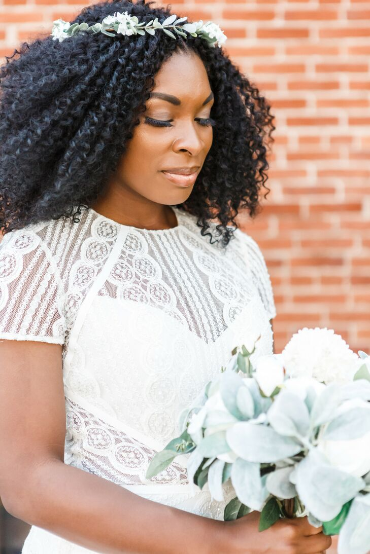 Bride with Bouquet at The Booking House in Manheim, Pennsylvania