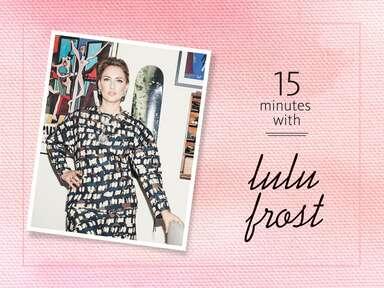 jewelry designer Lisa Salzer of Lulu Frost
