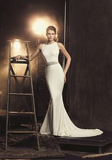 Mikaella 2090 Sheath Wedding Dress