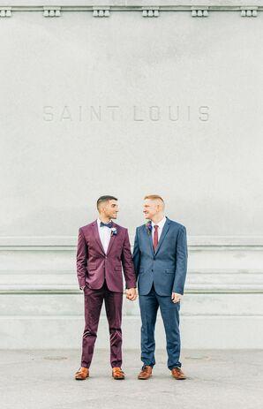 Same-Sex Couple at Neo on Locust in St. Louis, Missouri