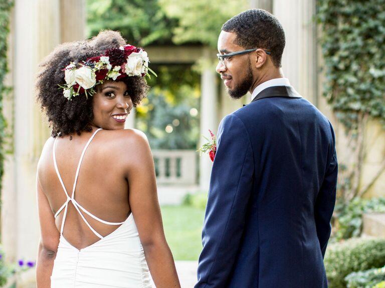 Statement-Making Flower Crown - bridal crowns