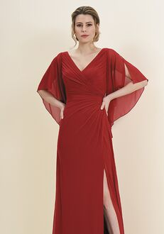 Jade Mother of the Bride by Jasmine J195052 Red Mother Of The Bride Dress