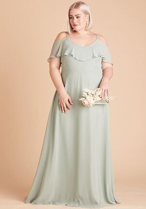 Birdy Grey BC2005SG Off the Shoulder Bridesmaid Dress