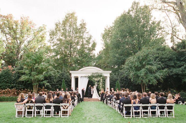 Romantic Duke Mansion Garden Ceremony
