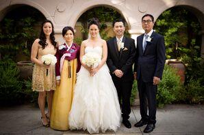 Wedding Party at Glamorous Southern California Wedding