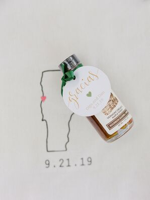 Maple Syrup for Vermont Wedding Welcome Bag