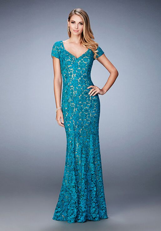 44e3e60895 La Femme Evening 22998 Mother Of The Bride Dress - The Knot