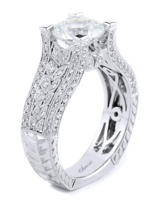 Supreme Jewelry Glamorous Round Cut Engagement Ring
