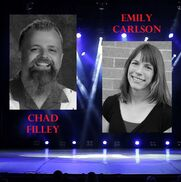 Cambridge, MN Comedian | Chad Filley & Emily Carlson Best: 2013/2015/2017