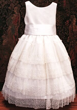 Isabel Garretón Celebration White Flower Girl Dress