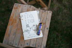 'I Do, I Do' Personalized Coloring Book Wedding Activities