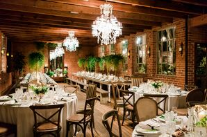 Modern Reception at Carondelet House in Los Angeles