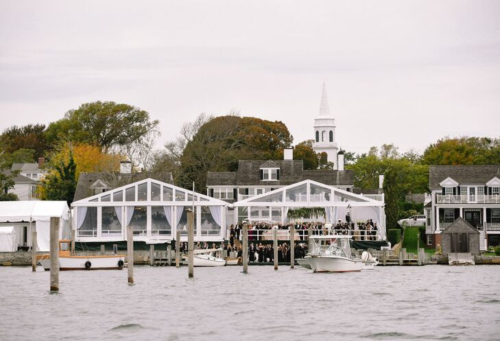 Waterfront Reception Venue on Martha's Vineyard