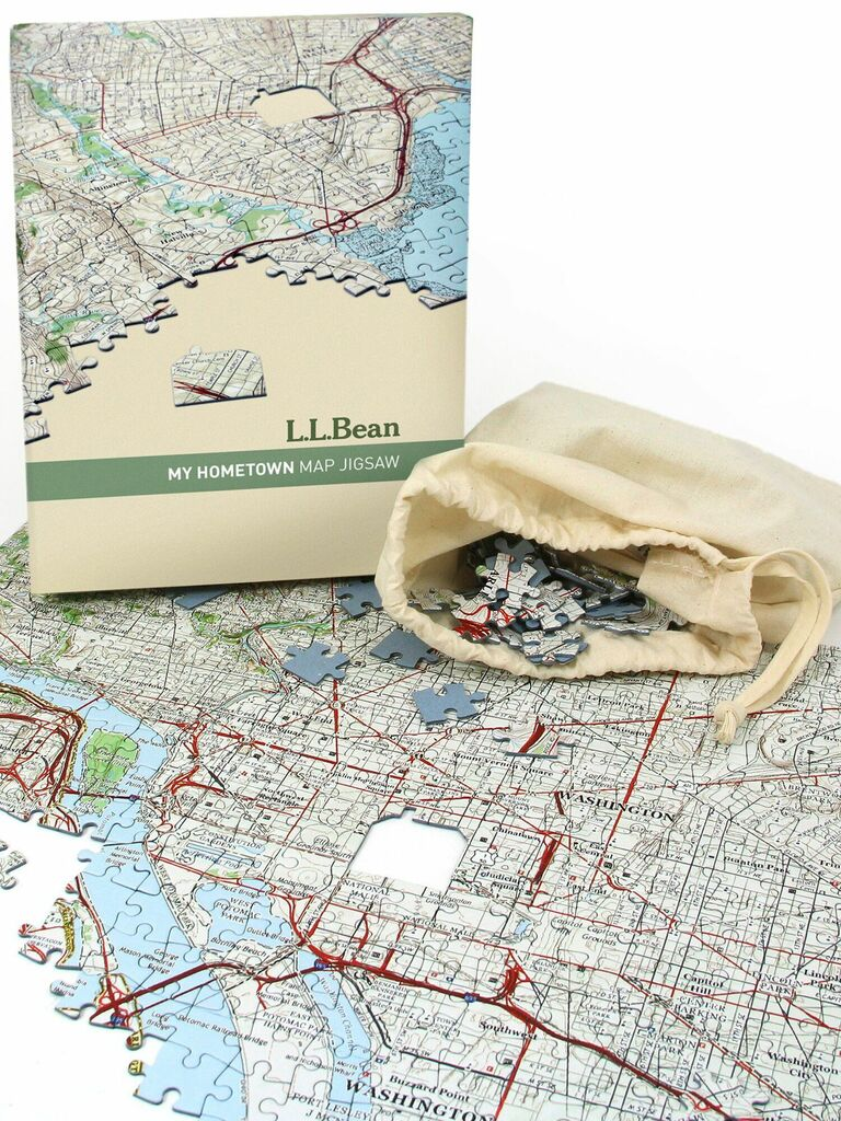 hometown puzzle thoughtful gift for husband