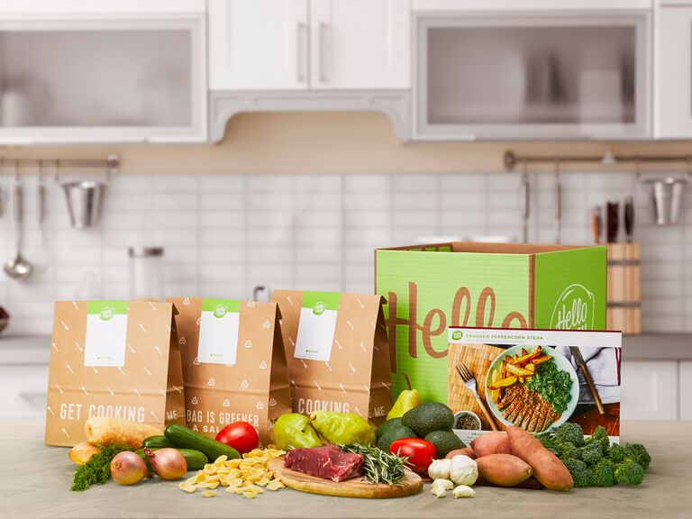 Meal subscription cute Valentine's Day gift for him