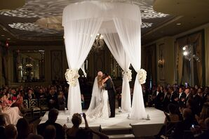 Glamorous Wedding Ceremony in the Round