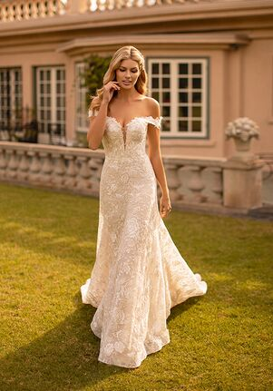 Moonlight Collection J6793 Mermaid Wedding Dress