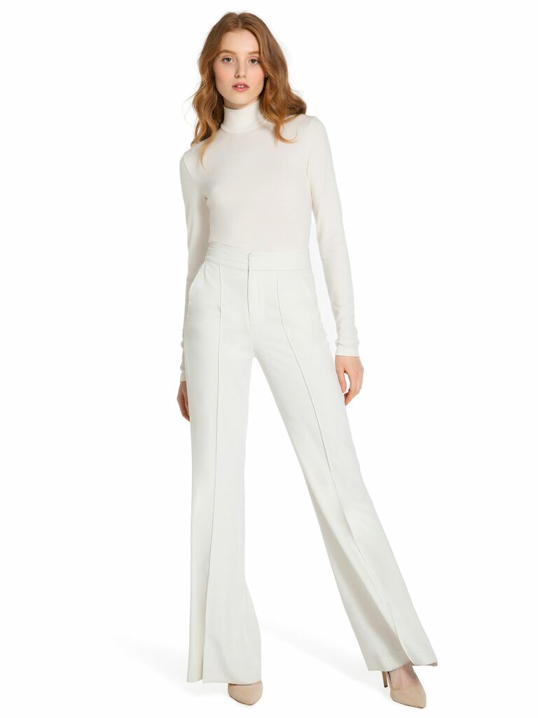 Wedding Pant Suits.Bridal Jumpsuits And Wedding Pant Suits For Any Style Or Budget
