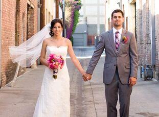 The Bride Maya Chavez, 30, a kindergarten teacher in Los Angeles The Groom David Garcia, 32, president of Kombine Media in Los Angeles The Date July 4