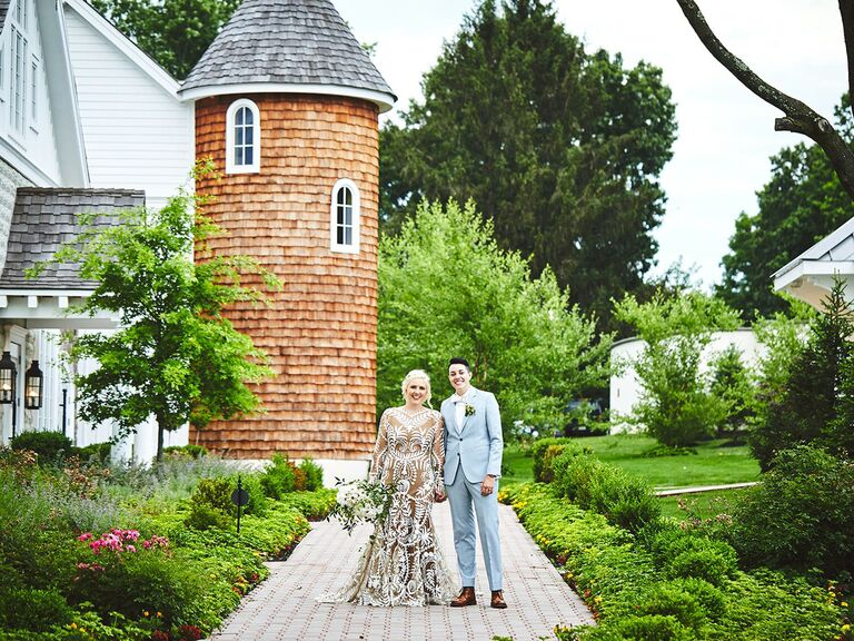 Barn wedding venue in Whitehouse Station, New Jersey.