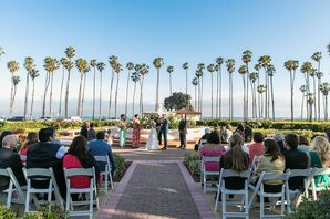 Hilton Santa Barbara Beachfront Resort Rose Garden Ceremony