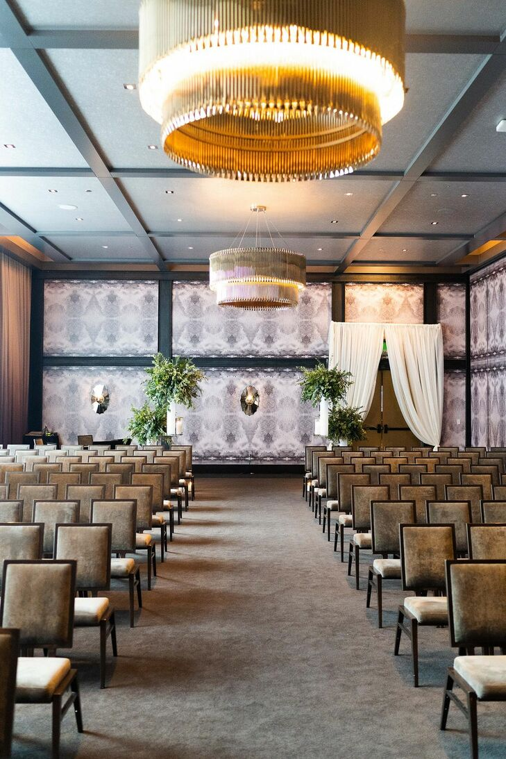 Ballroom Wedding Ceremony at the Hotel Van Zandt in Austin, Texas