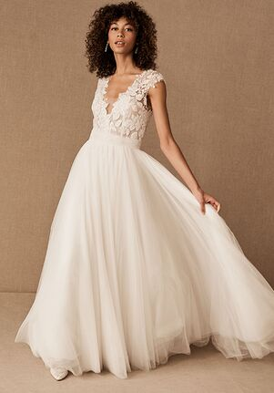 BHLDN Danielle Gown Ball Gown Wedding Dress