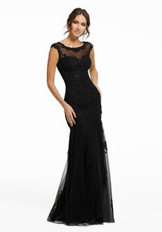 MGNY 72008 Black Mother Of The Bride Dress