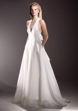 Viktor&Rolf Mariage INVERTED V-BACK BOW GOWN A-Line Wedding Dress