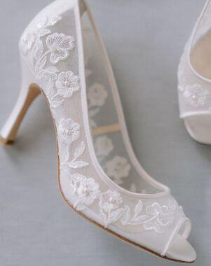 Bella Belle EMILY Ivory Shoe