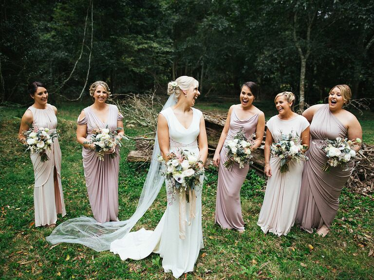 79ed59ddffc5 Tips on getting the perfect mismatched bridesmaid dress look